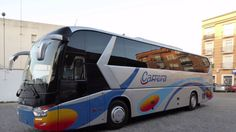 Autocares Carrera alquiler autobuses autocares microbuses - YouTube