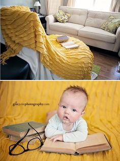 New Ideas For New Born Baby Photography : Bookish goodness. - New Ideas For New Born Baby Photography : Bookish goodness… – Photography Magazine Monthly Baby Photos, Newborn Baby Photos, Baby Poses, Baby Boy Photos, Newborn Shoot, Newborn Pictures, Newborn Twins, Newborns, 6 Month Baby Picture Ideas Boy