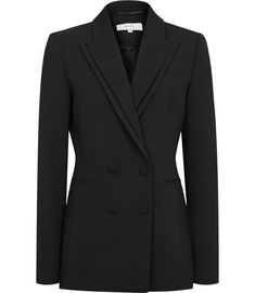 REISS - ETHIE DOUBLE-BREASTED BLAZER