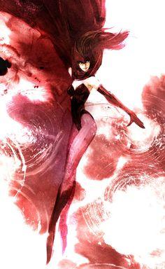 Scarlet Witch by naratani on DeviantArt Marvel Art, Marvel Dc Comics, Marvel Avengers, Comic Collage, Comic Art, Comic Book, Elizabeth Olsen, Dr Strange, Stan Lee
