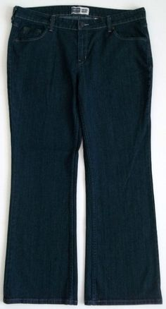 Levi Strauss Signature Low Rise Bootcut Jeans-Misses-Sz 16 Medium     EXCELLENT! #LeviStraussSignature #BootCut