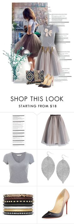 """""""aw"""" by kriz-nambikatt on Polyvore featuring Arche, Chanel, Chicwish, Miss Selfridge, Humble Chic, Yves Saint Laurent and Christian Louboutin"""