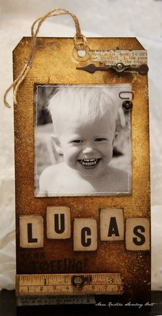 Anne's paper fun: Lucas 2 år