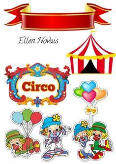 Parati parada Carnival Themed Party, Carnival Themes, Circus Party, Party Themes, Circus Birthday, 3rd Birthday, Birthday Parties, Clown Images, Christmas Carnival