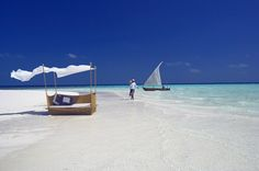 White sand beach in the #Maldives