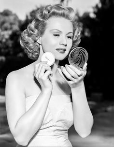 "sparklejamesysparkle: "" Virginia Mayo, 1954. """