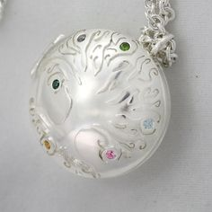 Locket Mother's Tree of Life24 Made to by LaineBenthalldesigns, $468.00