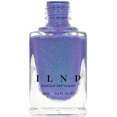 Wallflower Periwinkle-Purple Shimmer Nail Polish ($10) ❤ liked on Polyvore featuring beauty products, nail care, nail polish, nails, bath & beauty, makeup & cosmetics, silver and shiny nail polish