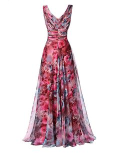 long prom dresses - Long Prom Dress High Quality The Most Beautiful Formal Party Gown Floral Pattern Sleeveless Special Occasion Summer Formal Dresses, Dresses Elegant, Most Beautiful Dresses, Prom Dresses, Dress Formal, Dress Prom, Dress Summer, Dress Wedding, Bridesmaid Dresses