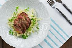 Shaved Fennel Salad With Steak