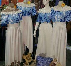 Samoan style Special Dresses, Unique Dresses, Beautiful Dresses, New Dress Pattern, Dress Patterns, Top Pattern, Island Wear, Island Outfit, Samoan Dress