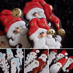 Santa cookies by Didi Cash Romero