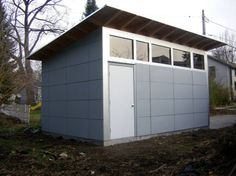 Studio Shed | Modern Shed   Storage Shed   Office Shed   Windows At Top And