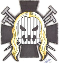 Basil Hawkins Pirate-Emblem. by LoLoOw