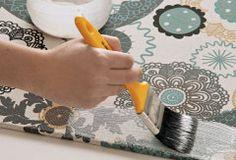 Aprenda a fazer seu próprio painel de tecido