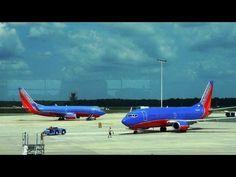 419. Америка. Самолеты. Аэропорт в штате Флорида. Джексонвилл.
