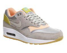 Nike Air Max 1 (l) Metallic Silver Glow La - Hers trainers