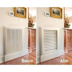 The Friendly Home: A better looking return air grille....