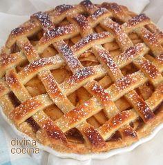 Apfelkuchenrezept im englischen Stil - en español - Halal Recipes, Apple Pie Recipes, Cake Recipes, American Apple Pie, Latin American Food, Cheesecake, Tasty, Yummy Food, Pan Dulce