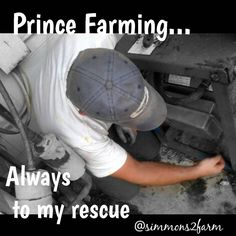 """""""My Hero, my Knight in Muddy Boots, my Prince Farming... This old dairy barn, something is always breaking down, burning up, or screwing up... But he's…"""""""