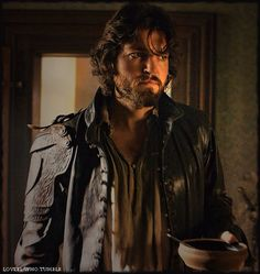 Smoldering (Tom Burke, Athos, The Musketeers)
