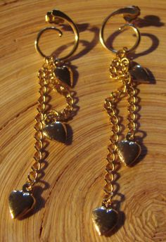 Vintage Unchain my Heart Earring by Avon by AntiqueAlchemists, $10.00