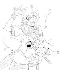 「【防衛部】ほぼ双子」/「ダン」の漫画 [pixiv]