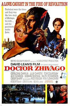 CLASSIC russian love story DOCTOR ZHIVAGO julie CHRISTIE revolution 24X36 Brand New. 24x36 inches. Will ship in a tube. Reproduction of aged original vintage art print. Great wall decor art print at a