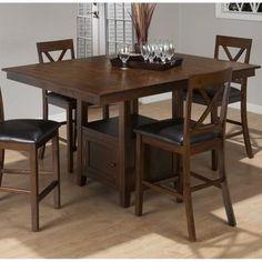 Jofran Counter Height Rectangle Dining Table in Olsen Oak @besthomehq