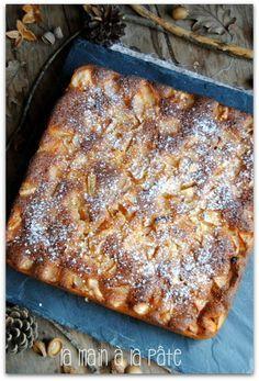 fondant aux pommes et au mascarpone - Need to translate! Apple Desserts, Apple Recipes, Sweet Recipes, Dessert Recipes, Desserts Fruits, Dessert Party, Super Dieta, Mousse Au Chocolat Torte, Desserts With Biscuits