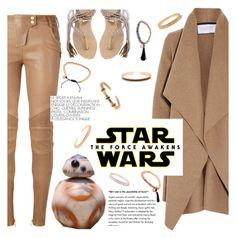 """""""Star Wars: The Force Awakens"""" by gideon-john ❤ liked on Polyvore featuring Harris Wharf London, Balmain, L*Space, starwars and contestentry"""