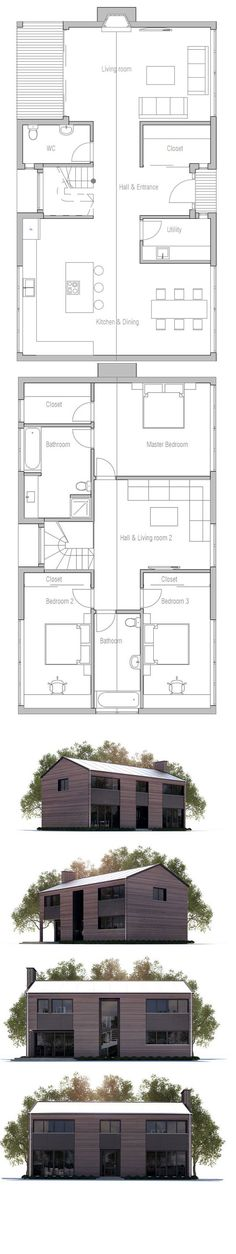 Floor Plan - would be best if we got rid of the tiny patio off the living room and made it enclosed storage instead! Not enough storage space otherwise.