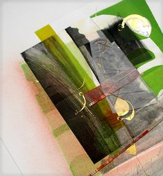 """""""love monoprints!  great work by Suzanne Moore"""" Me too and I love her work. This one is new to me. S."""