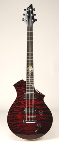 Breedlove Mark I Custom Chambered Electric Guitar with Quilted Maple Top www.crispyzebra.com