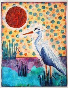 Inky Dinky Doodle: LifeBook Week 38: Journey to Acceptance (Heron)