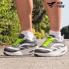 Loop moeiteloos fit en val af! Walk without any effort and lose your weight. Link: http://www.justgoodle.com/nl/sportmateriaal/8141-air-tone-sportschoenen.html