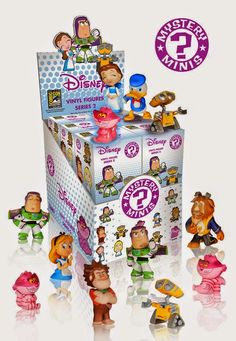 Disney Series 2 San Diego Comic-Con Exclusive Mystery Minis Vinyl Figure Blind Boxes by Funko