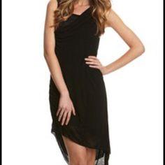 Lbd Duffy High Low Black Dress Nwt