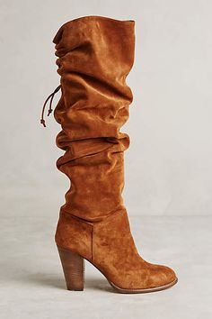 Miss Albright Fulton Knee Boots - anthropologie.com You can wear them scrunched down or tall!