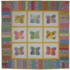 Design I will be using to make Anabelle's baby clothes quilt