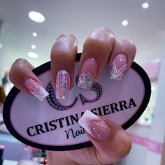day nails acrylic simple Acrilicas The Effective Pictures We Offer You About nails sencillas A quality picture can tell you many things. Yellow Nails, White Nails, Pink Nails, Glitter Nails, Cow Nails, Black Nail, Pastel Nails, Nail Art Cute, Cute Acrylic Nails