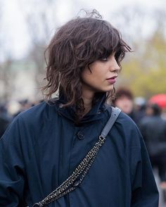 Hair Inspo, Hair Inspiration, Bushy Eyebrows, Mullet Hairstyle, Mullet Haircut, Corte Y Color, Mullets, Ingrown Hair, Hairstyles With Bangs