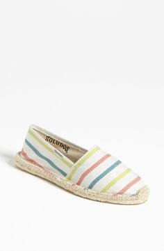 Soludos 'Classic - Stripe' Slip-On | Nordstrom