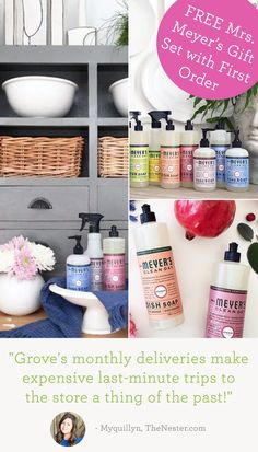 Sign up and discover the best natural household and personal products    http://thenester.com/that-free-mrs-meyers-kit-is-back-yee-haw-2/?&utm_campaign=pinterest&utm_content=gardening&utm_term=37.7p