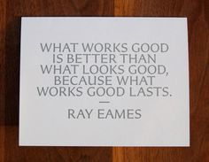 Eames was right