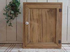 アンティークブラウン◇木製扉のトイレットペーパーキャビネット(ニッチ用埋め込みタイプ)