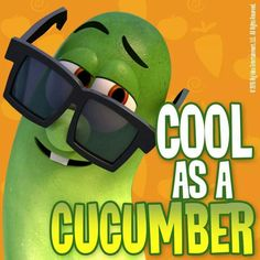 Cool as a cucumber - Larry Veggie Tales Party, Veggietales, Daughter Of God, Mom Outfits, Cucumber, Entertaining, Larry, Veggies, Faith