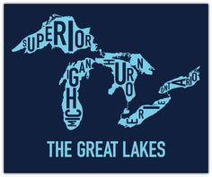 Ork Posters! The Great Lakes: http://www.orkposters.com/greatlakes.html  I have the brain poster from this company and would love to start a collection for my (future) office.