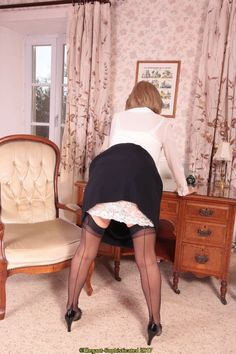 Panty Images, Auntie, Stockings, Slip On, Fun, Women, Blue Lingerie, Socks, Panty Hose