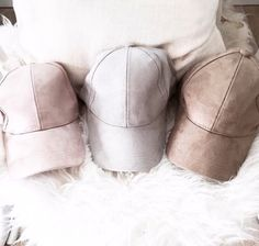 We're obsessing over our suede hats! Shop them now from alyannaclothing.com